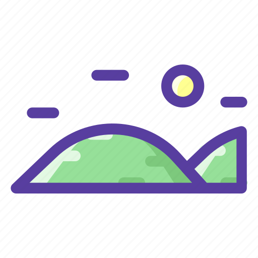 Adventure, hill, mountain, outdoor icon - Download on Iconfinder