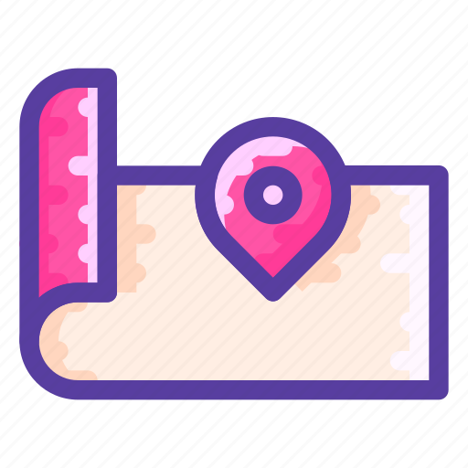 Adventure, direction, location, map icon - Download on Iconfinder