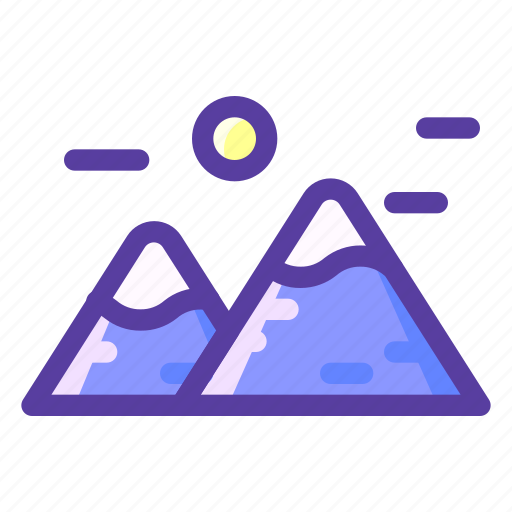 Adventure, mountains, nature, outdoor icon - Download on Iconfinder