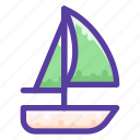adventure, boat, sailing, ship