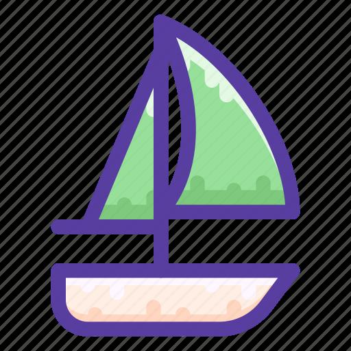 adventure, boat, sailing, ship icon