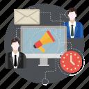 advertising, marketing, megaphone, promotion, seo icon