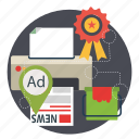 advertising, marketing, megaphone, promotion, seo icon