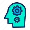 brain, brainstorming, business, idea, mind, think icon
