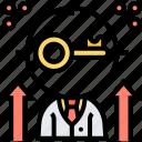 key, success, business, development, strategy