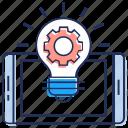 brainstorming, creativity, idea generation, innovation, marketing idea icon