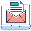 email, email advertising, email campaign, email marketing, emarketing icon