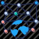affiliate marketing, global communication, global connection, global marketing, global network icon