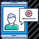 advertisement, digital marketing, internet marketing, publicity, video marketing icon