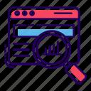 business data, business optimization, data analysis, data analytics, market research, statistics icon