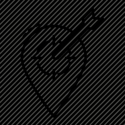 geo location, geo targeting, gps, navigation, target location, target navigation icon