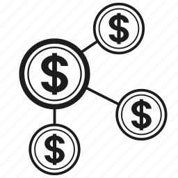 finance, money, share icon