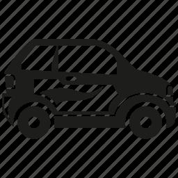 ad, car, vehicle icon