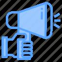 advertise, background, business, communication, design, digital, marketing icon