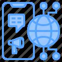 background, business, communication, design, digital, globe, marketing icon