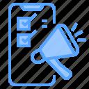 application, background, business, communication, digital, marketing, mobile icon