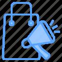 background, business, communication, design, digital, marketing, shopping icon