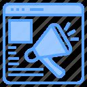 background, business, communication, design, digital, marketing, website icon