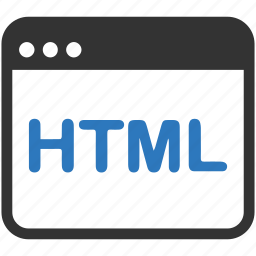 coding, html, seo icon