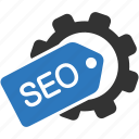 optimization, seo, tag icon