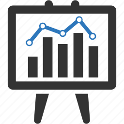 business, chart, data, finance, graph, marketing, statistics icon