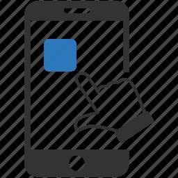 app, design, mobile, smart phone icon
