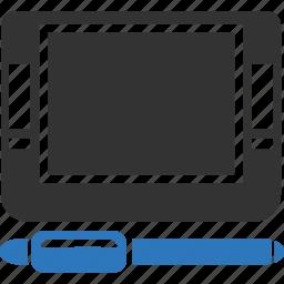 computer, design, development, device, digital, drawing icon