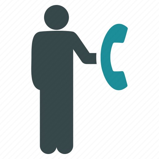 call, communication, connection, dial, message, phone, telephone icon