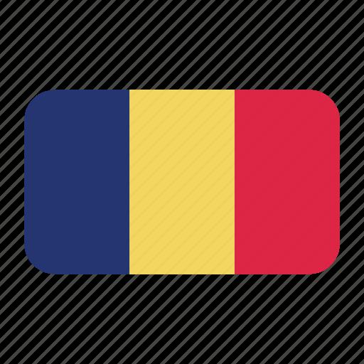African Flag Chad Chad Flag Flag Icon Icon Icon Search Engine - Chad flag