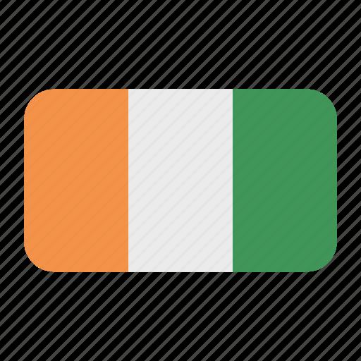 Cote Divoire Flag