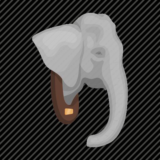 Animal, board, effigy, elephant, head, trophy, wild icon - Download on Iconfinder