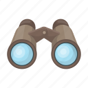 appliance, binoculars, hunting, observation, optics, safari icon