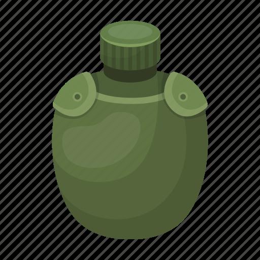 cover, equipment, jar, safari, water icon