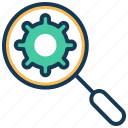 automation, automation scope, configuration, delivery, devops, settings icon