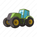 agricultural machinery, equipment, farm, machinery, tractor icon