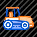 caterpillar, tractor, vehicle icon icon