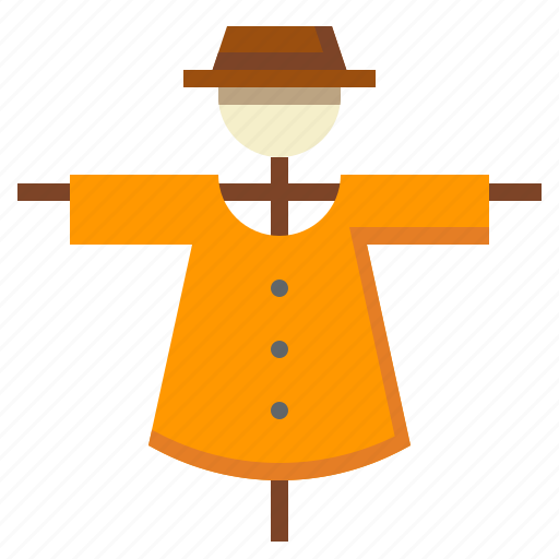 character, farming, rural, scarecrow icon