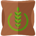 farm, sack, bag, fertilizer, farming, agriculture icon