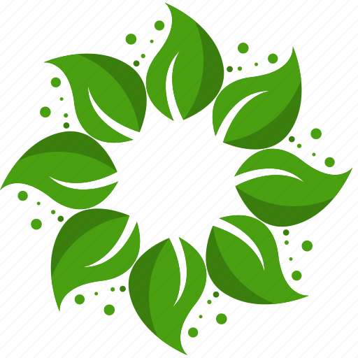 agriculture, farm, flower, leaves, nature, organic icon