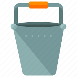 agriculture, bucket, carry, maintenace, tool icon