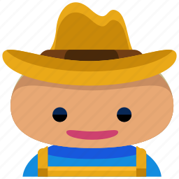 agriculture, avatar, farm, farmer, man, people icon
