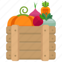 agriculture, farm, farming, fruits, market, vegetables icon