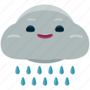 agriculture, cloud, nature, rain, weather icon