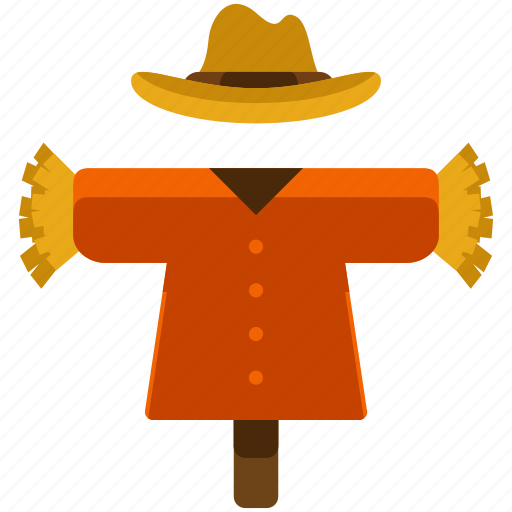 agriculture, crops, farm, farming, field, nature, scarecrow icon