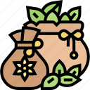 seed, bag, grain, sack, crop icon
