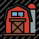 barn, farm, agriculture, house, country