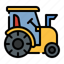 tractor, machinery, farm, farming, agriculture