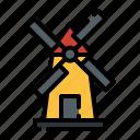 windmill, wind, mill, farming, energy