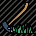 scary, gardening, terror, farming, fear, reaper, scythe icon