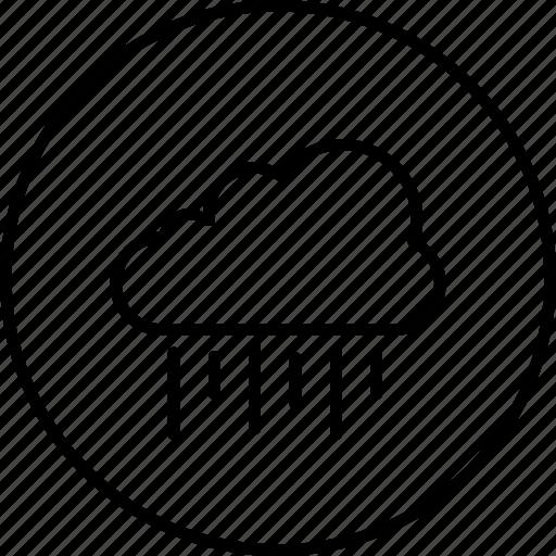 colud, rain, season, weather icon